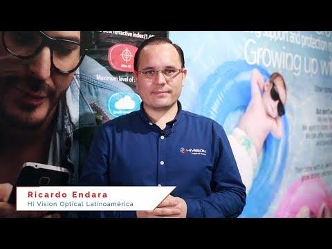 Hi Vision Optical Latinoamérica en Vision Expo 2018: Ricardo Endara