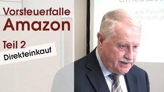 Vorsteuerfalle Amazon (2/3): Direkteinkauf - Verlag Dashöfer