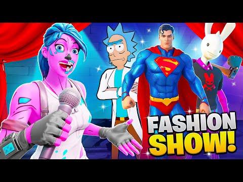 *NEW* SEASON 7 Fortnite FASHION SHOW! (Superman + More)