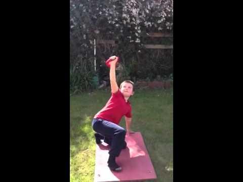 Rossa Nicoletti Turkish Get Up Age 9