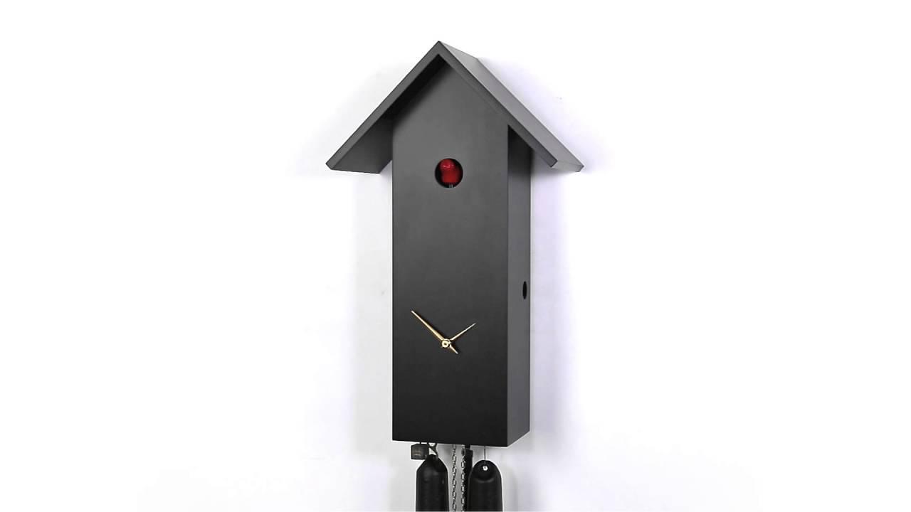 kuckucksuhr modern cuckoo clock modern 50738 youtube. Black Bedroom Furniture Sets. Home Design Ideas