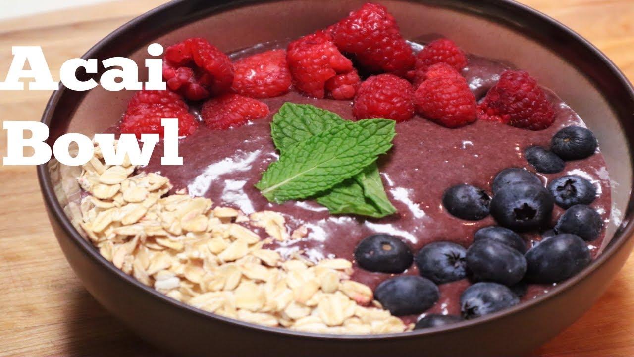 acai bowl rewe