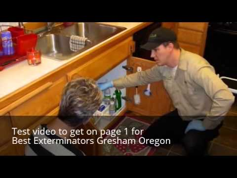 Exterminators Gresham Oregon