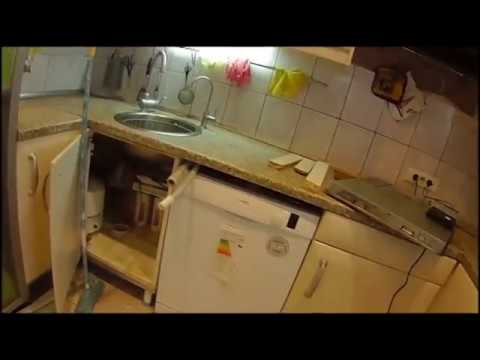 День 38 Установка посудомойки под столешницу