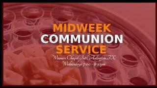 WCI ARLINGTON, TX - Week Of Spiritual Emphasis- Day 2 NOV. 07, 2019