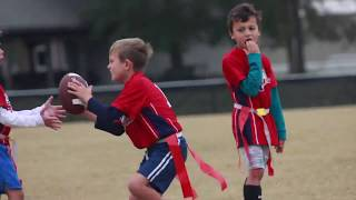 i9 Sports 352- South Wilmington Flag Football Highlights 10/27/18