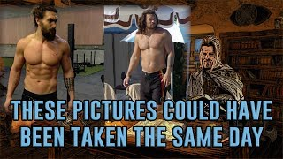 Jason Momoa 'Dad Bod'? The Truth About Fitness Pictures and Before-and-After Pictures