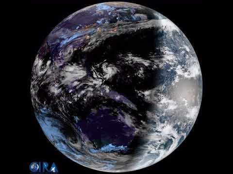 Earth From Geostationary Orbit - 8K Resolution