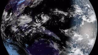 Earth From Geostationary Orbit - 8K Resolution