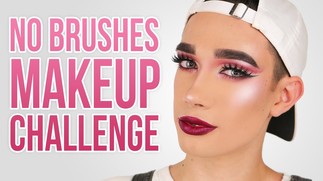 91a44018067 FULL FACE USING NO BRUSHES MAKEUP CHALLENGE | JCharlesBeauty - YouTube