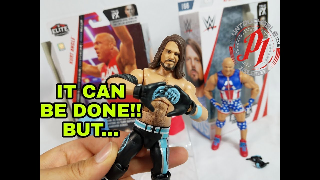 WWE MATTEL AJ Styles Elite Series #66 Figure