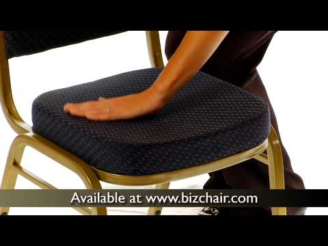 Hercules Series Dome Back Stacking Banquet Chair With Gold Frame  (FD C03 ALLGOLD H20124E GG)   YouTube