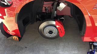 Brake Caliper Cover install on a 2017 Dodge Charger Daytona