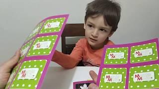 MERAKLI MİNİK 2018 MAYIS SAYISINI İNCELİYORUZ - Eğlenceli Çocuk Videoları
