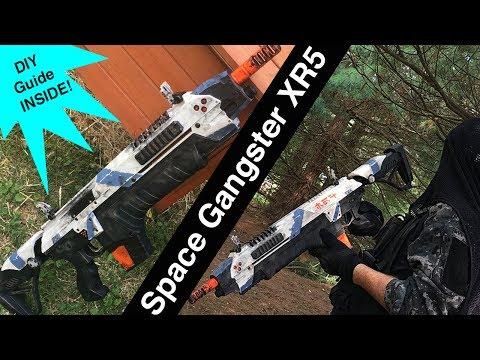 """CSI XR5 Airsoft Gun, Scifi Paint Job // The XR5 """"Space Gangster"""""""