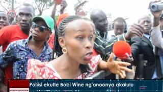 Poliisi ekutte Bobi Wine ng'anoonya akalulu thumbnail