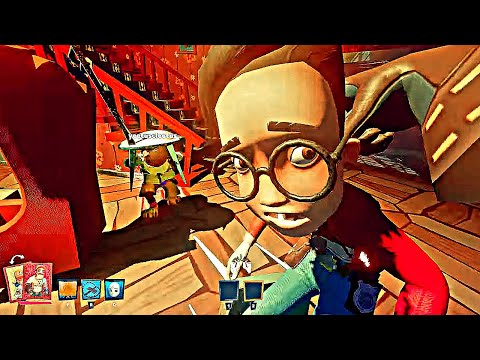 INTENSE FIGHTS as the Reliable SCARY Neighbor vs the Invading KIDS! Map 2 *SECRET NEIGHBOR* |