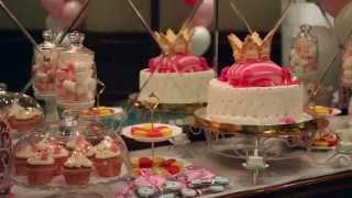 видео Детский день рождения в стиле принцессы