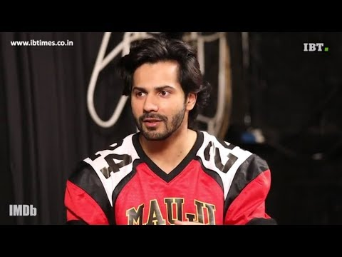 Varun Dhawan talks about Hrithik Roshan