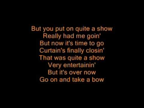 Take A Bow Rihanna With Lyrics