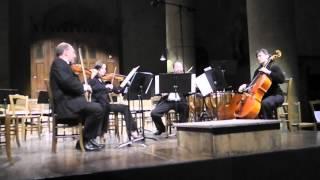 """Les cordes sans cibles Quartet """"Barbaresque"""" J-M.FICHTER"""