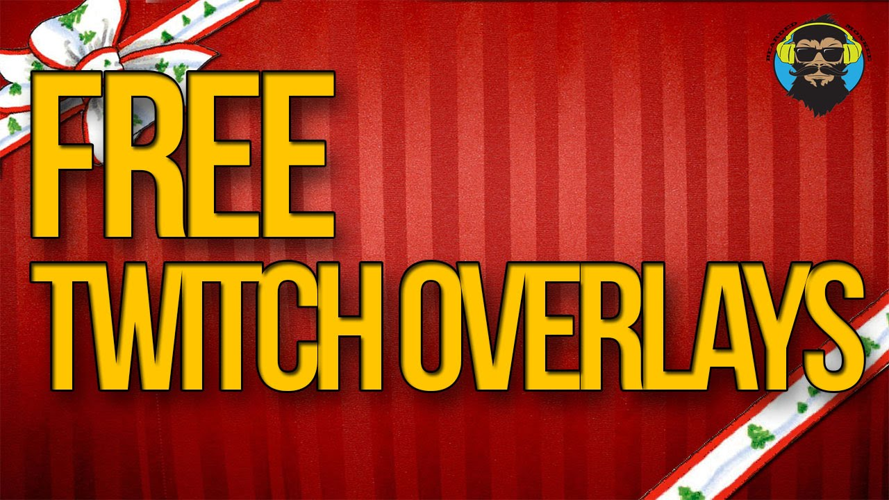 Free Twitch Overlays - Merry Christmas From The Bearded Monkee ...