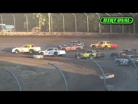 7 26 19 Willamette Speedway IMCA Stock Cars Highlights