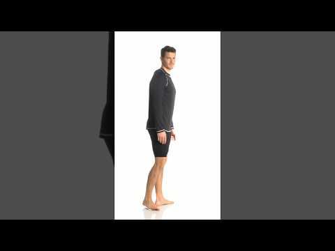 5535518102774 Speedo Men's Easy Long Sleeve Swim Shirt | SwimOutlet.com - YouTube