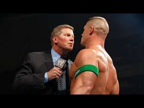 John Laurinaitis guarantees someone will be fired at No Way Out: SmackDown, June 15, 2012