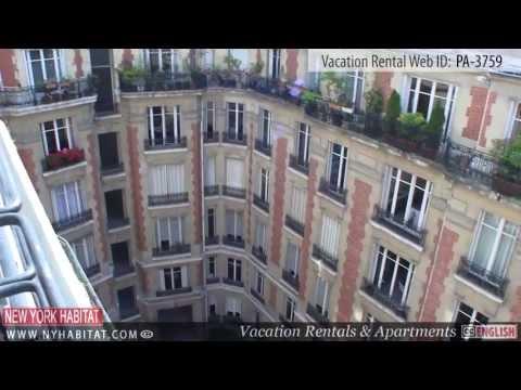 Video Tour of a 2-bedroom Vacation Rental on Rue du Faubourg Saint Honoré, Paris