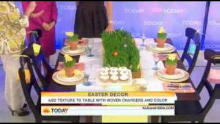 Annette Joseph Today Show Hop to it! Decorating for Easter