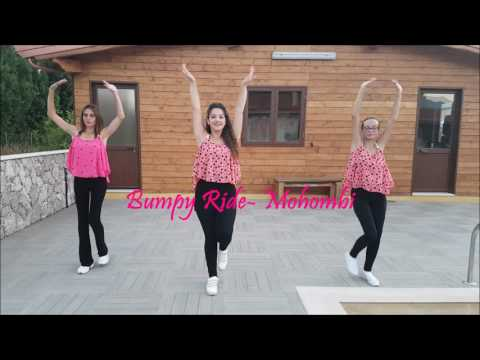 Ballo di gruppo 2017-Bumpy Ride- Mohombi Coreografia Maryconcy