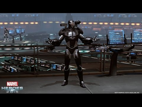 War Machine Bursts into Marvel Heroes 2015