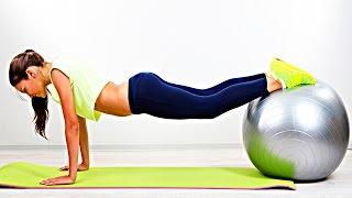 Упражнения для грудных мышц и рук Занятия на фитболе(Упражнения для грудных мышц и рук, занятия на фитболе очень полезны и эффективны. Фитбол или гимнастически..., 2016-01-26T07:16:55.000Z)