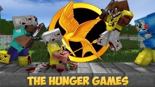 FNAF vs Mobs The Hunger Games Challenge Monster School Five Nights At Freddy s