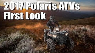 2017 Polaris ATV Lineup First Look, Redesigned Sportsman 850, 1000, and more powerful 450