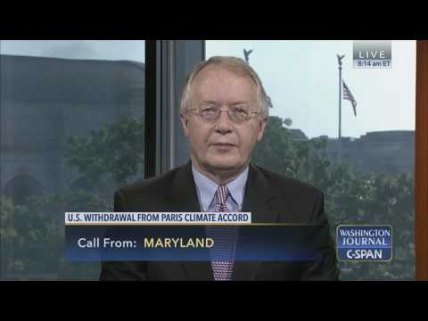 Myron Ebell Discusses Paris Climate Agreement on C-SPAN Full Version