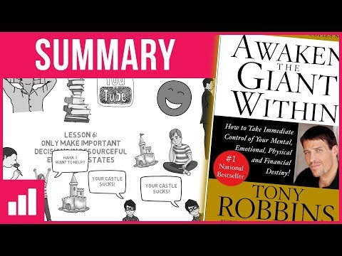 Awaken The Giant Within by Tony Robbins (Part 2) ► Animated Book Summary