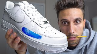 Learning how to Customize Air Force 1's