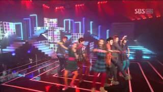 Co-Ed School - Bbiribbom Bberibbom @ SBS Inkigayo 인기가요 101121