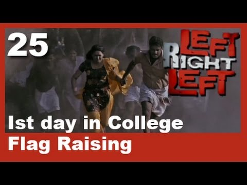 Left Right Left Clip 25 | First Day In College - Flag Rising