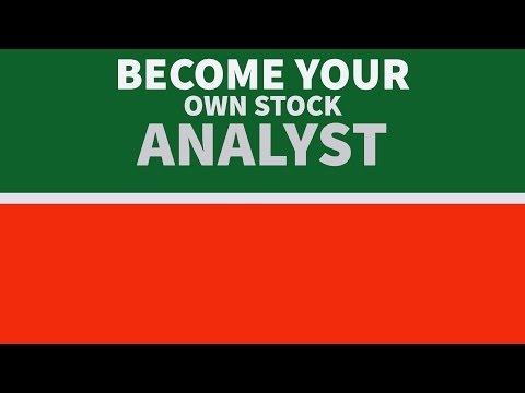 Become Your Own Stock Analyst