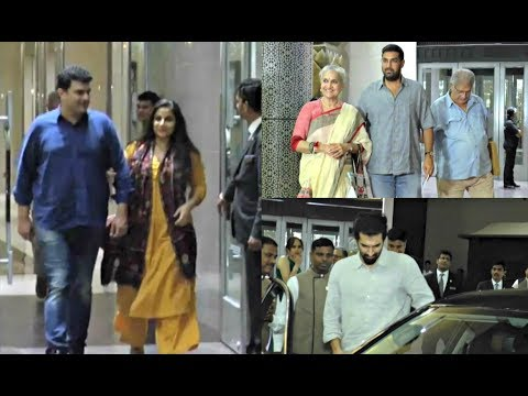 Siddharth Roy Kapoor Mother Birthday Celebration - Vidya Balan, Aditya Roy Kapoor, Kunal Roy Kapoor