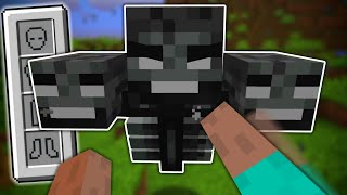 I Beat the Wither With NOTHING But My FIST!