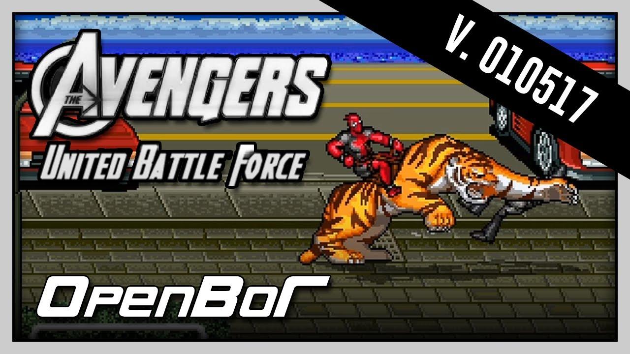 Avengers United Battle Force 20170105 Deadpool Playthrough Youtube