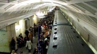 Moscow Metro - Teatralnaya - Театра́льная