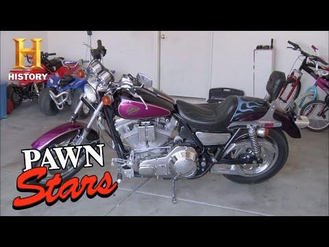 Pawn Stars: 1985 Harley Davidson FXR (Season 6) | History