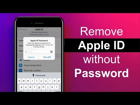 How to Remove Apple ID From iPhone without Password
