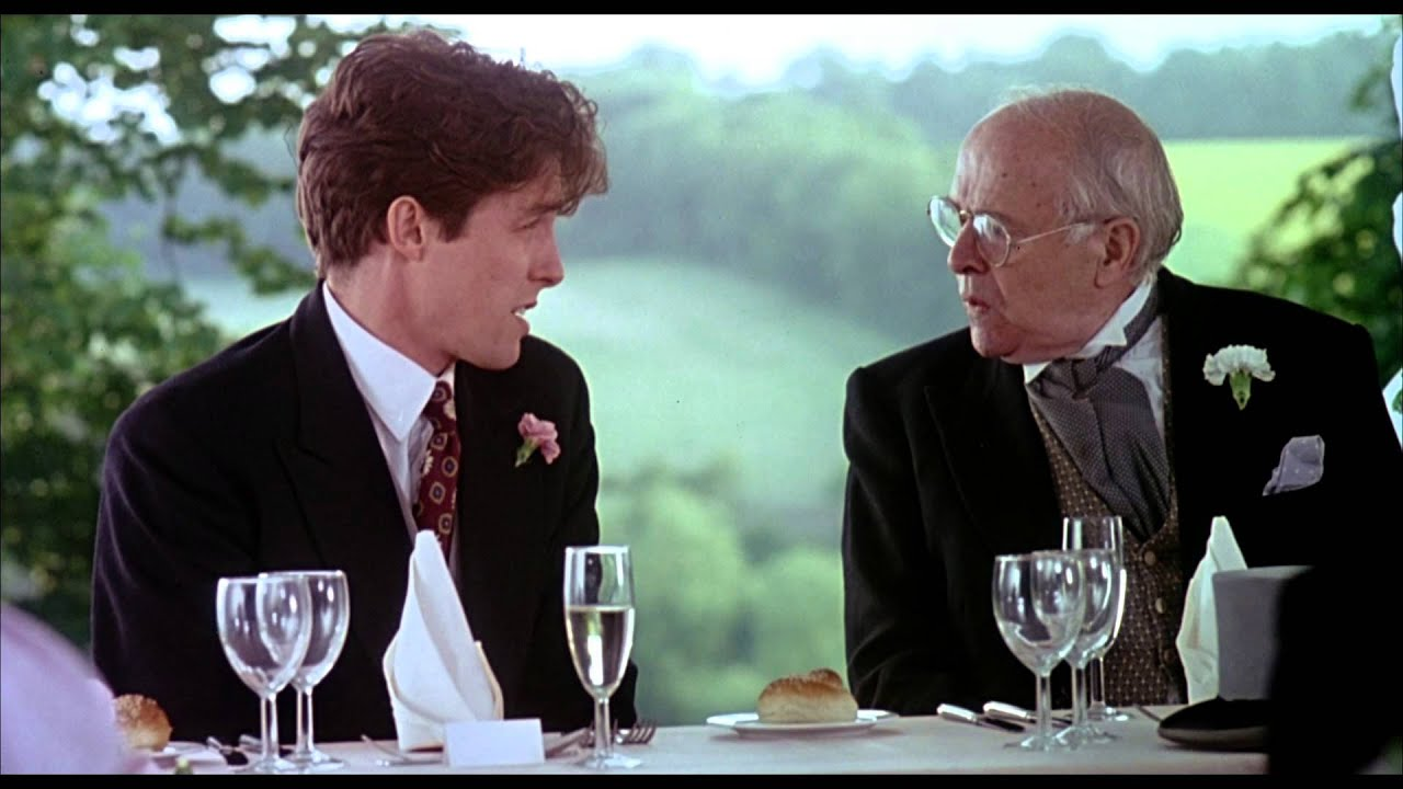 Four Weddings And A Funeral Trailer Youtube