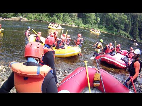 Rafting sur la rivière Jacques-Cartier